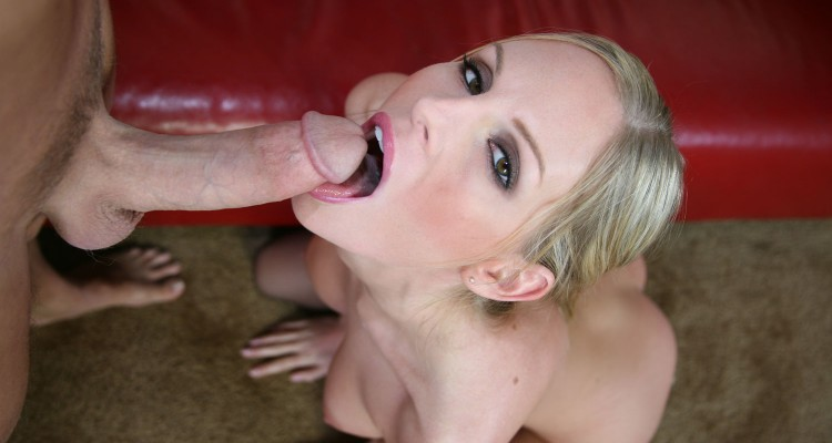 Aimee Addison opens wide for a load of cum