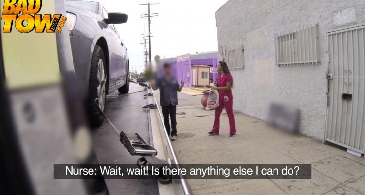 Nurse begs to keep her vehicle