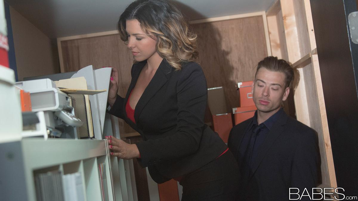 Babes office obsession danica dillon steve rodgers fe 3