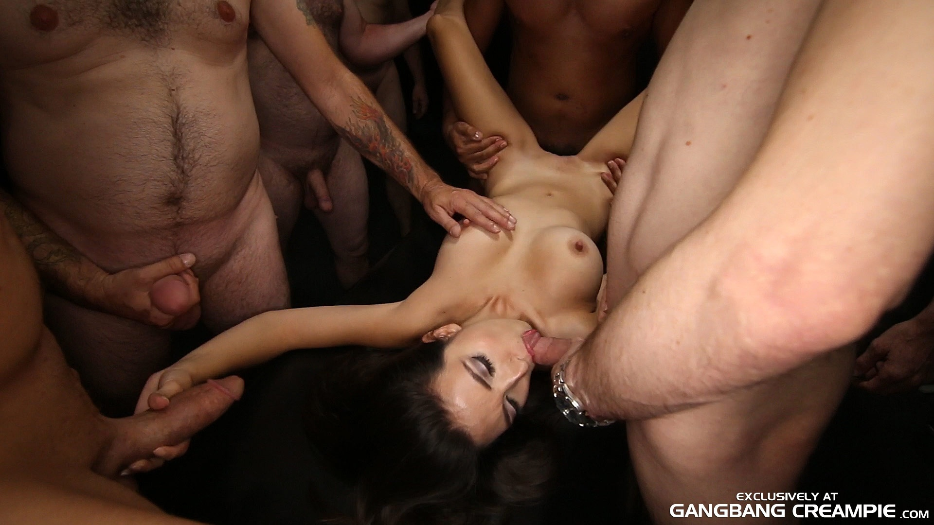 Porn gang bang join. was