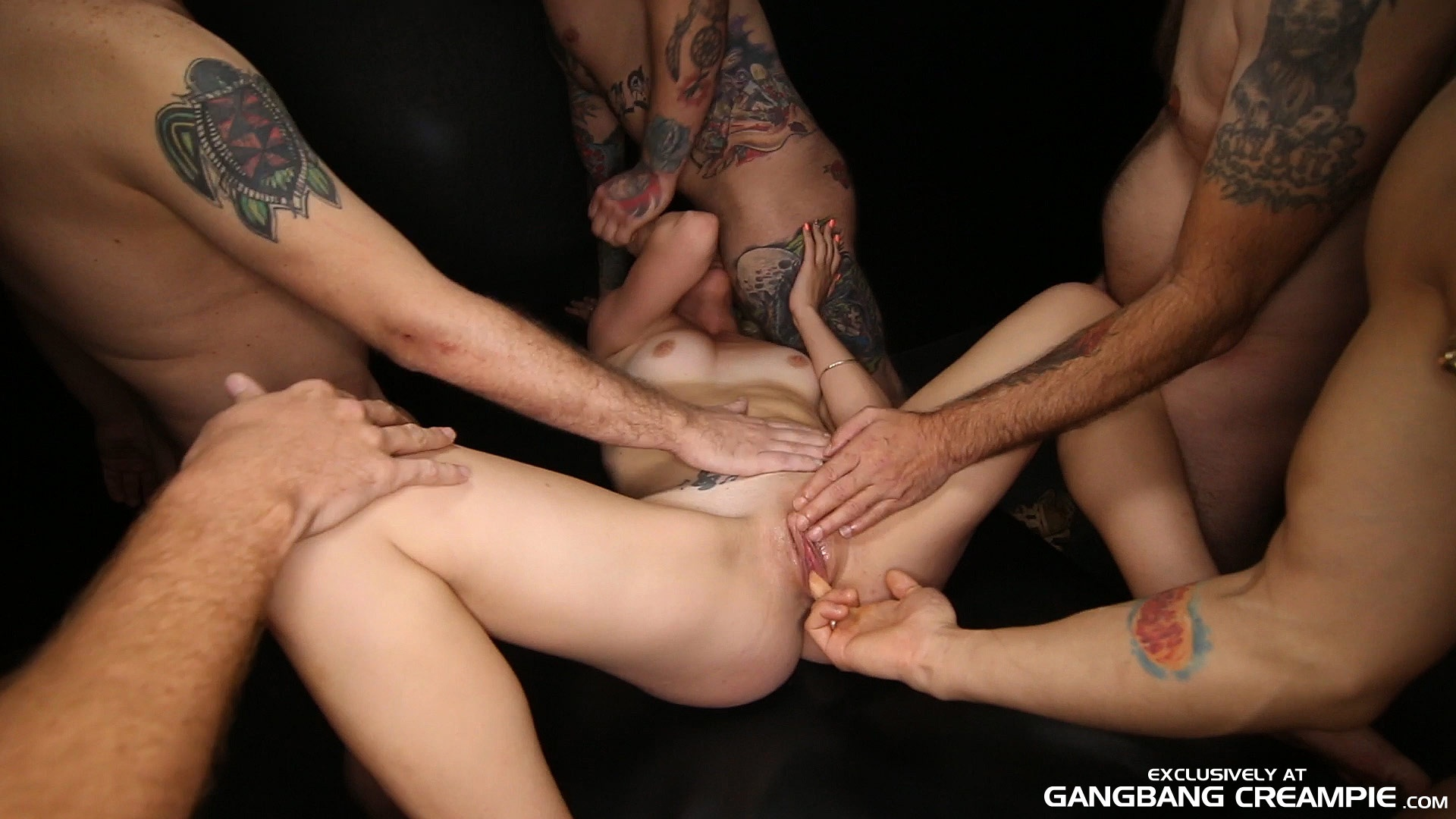 Gangbang jizz creampie tube perfect ass!