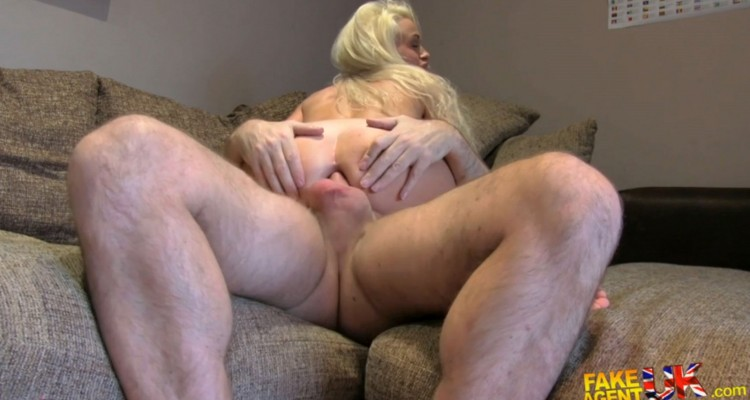Hot blonde gets her ass fucked