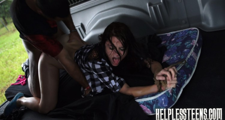 Kaisey Dean fucked on a dirty old mattress