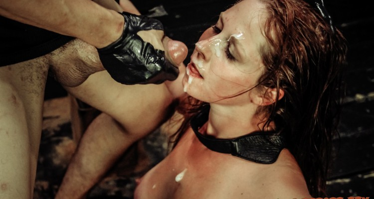 Autumn Kline facial from Sexual Disgrace