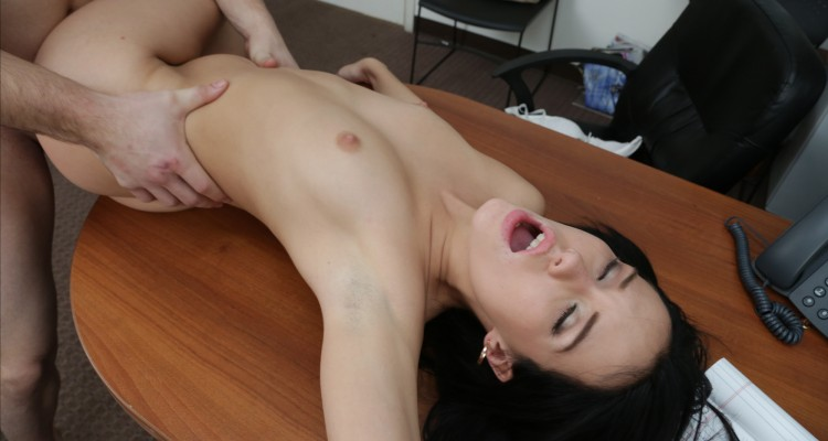Megan Rain enjoying her casting experience