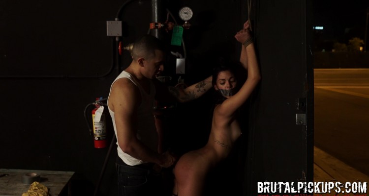 Gina gets restrained and fucked hard