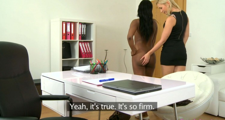 Tracy gets Jasmine naked during her casting call