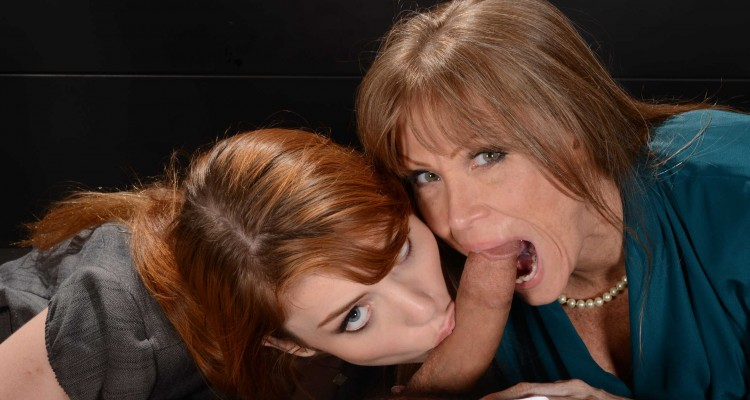 Gwen Stark and Darla Crane at Moms In Control