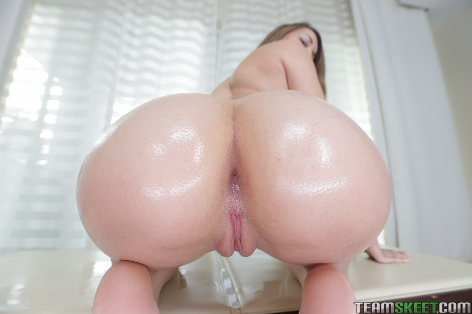 POV big butt young blonde