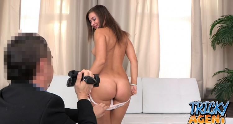 Brunette amateur with nice ass