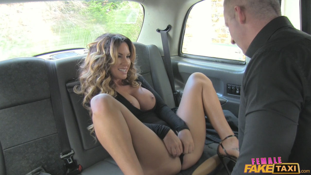 fake taxi female