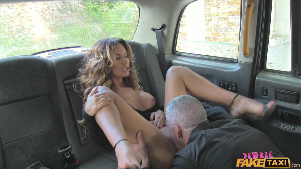 Female fake taxi porn
