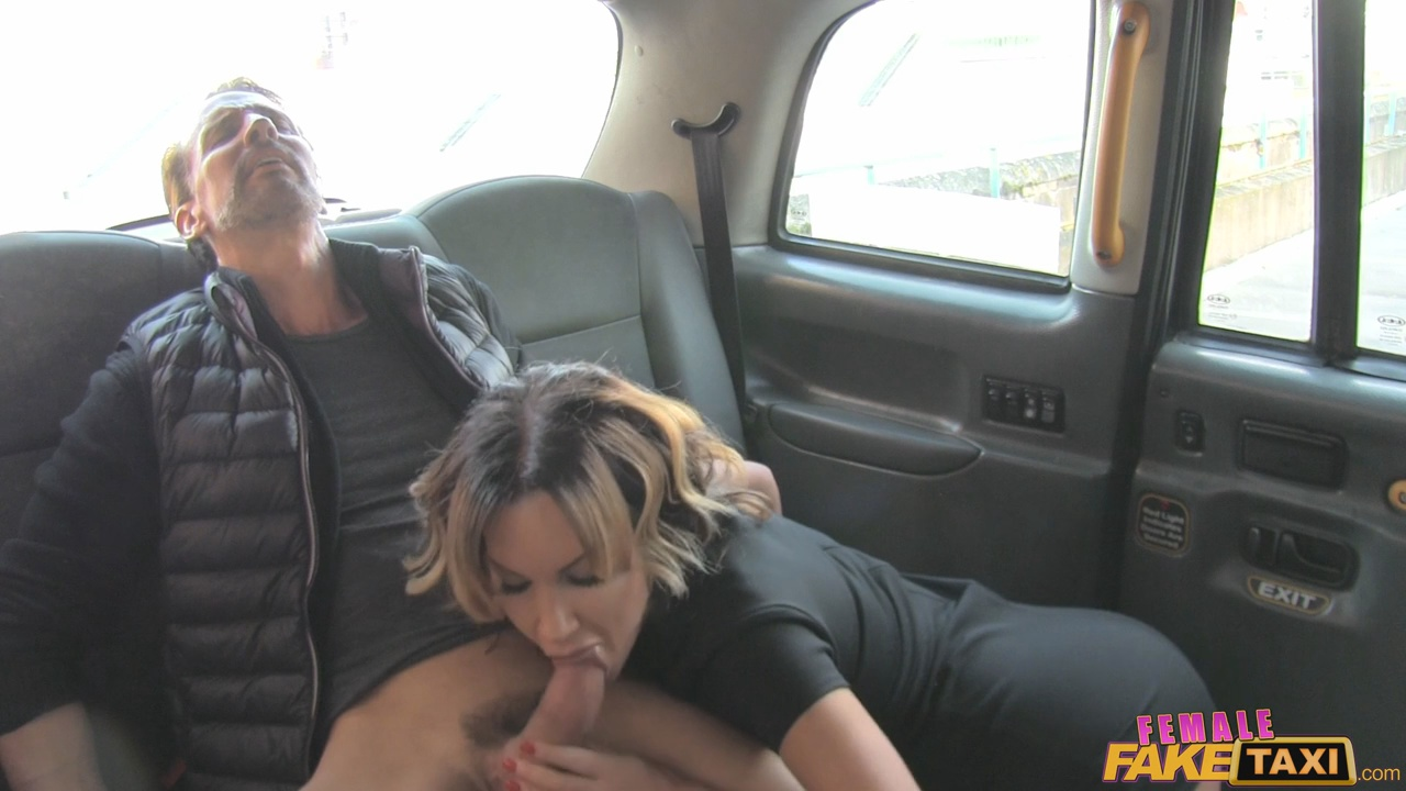 Female fake taxi lesbian pussy eating session in cab-19052