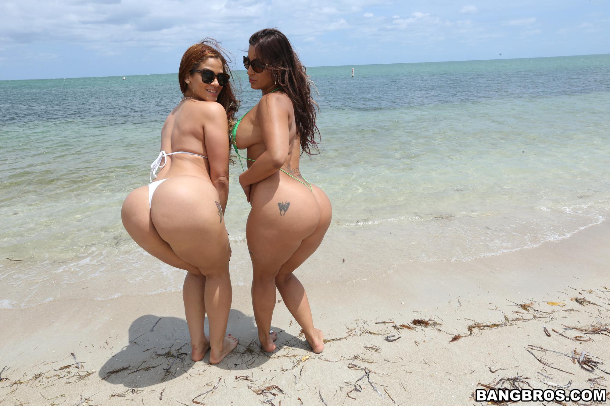You Big booty on the beach nude opinion
