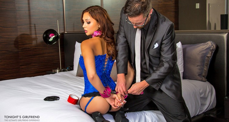 Ariana Marie gets handcuffed