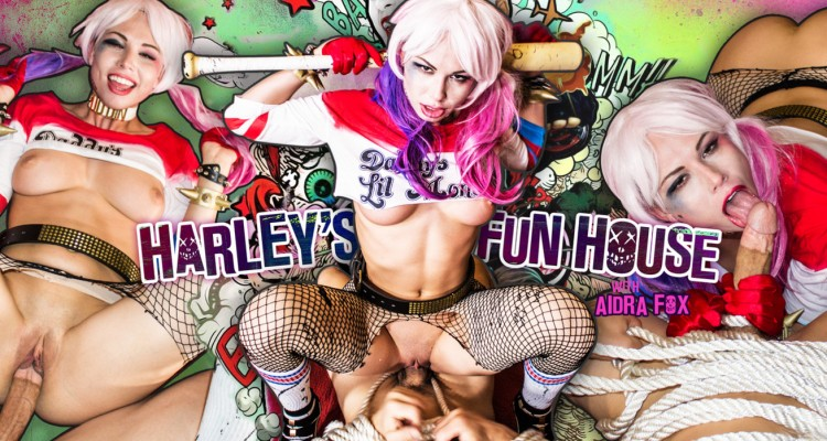 Aidra Fox stars in Harley's Fun House