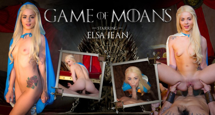 Elsa Jean stars in Game of Moans