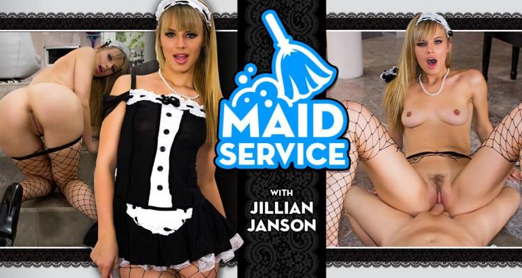 Jillian Janson offers full maid service