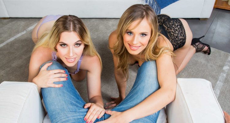 Jillian Janson and Niki Snow threesome from 2 Chicks Same Time