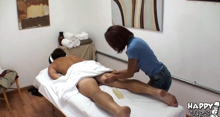 Kimberly Chi at Happy Tugs massage parlor