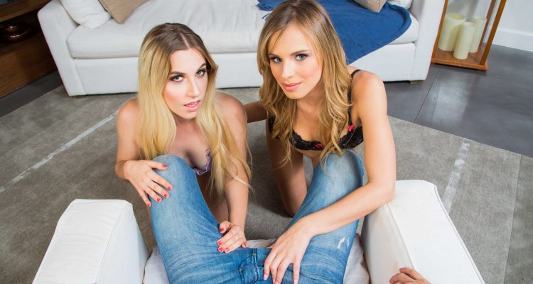 Jillian Janson and Niki Snow from Naughty America VR